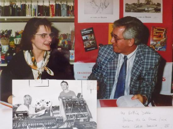 dédicace à la maison de la Presse, Hazebrouck, avec Colette David