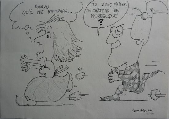 dessin de Francis Campagne
