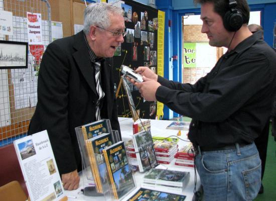interview sur le terrain, Tradiflandre 2010 Hoymille